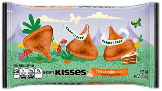 Bag of Carrot Cake Hershey's Kisses